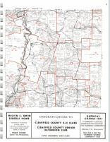Map Image 002, Clearfield County 1973
